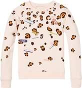 Scotch & Soda Placement Print Sweatshirt