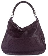 Tiffany & Co. Ostrich Marlow Hobo