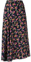 Victoria Beckham 'jewelry' print high-waisted skirt