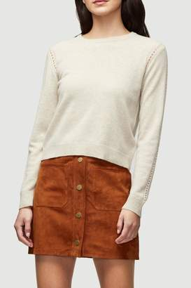 Frame Oatmeal Cashmere Sweater