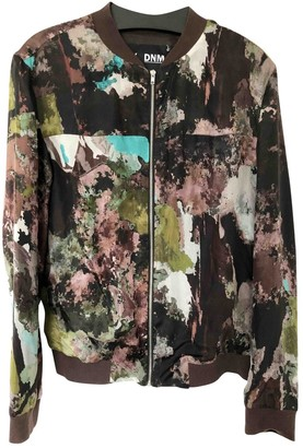 BLK DNM Multicolour Silk Jacket for Women