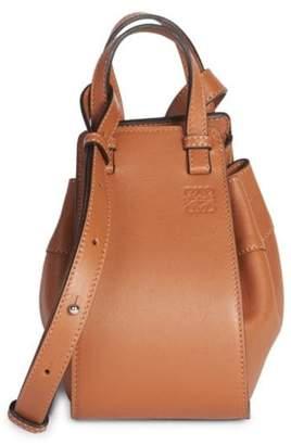 Loewe Mini Hammock Drawstring Leather Bag