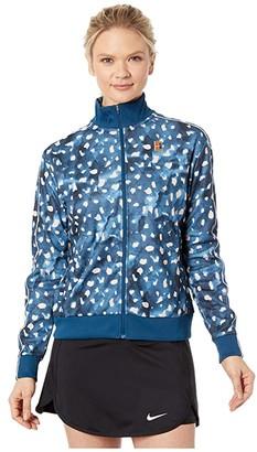 Nike NikeCourt Jacket MB NT (Valerian Blue) Women's Clothing