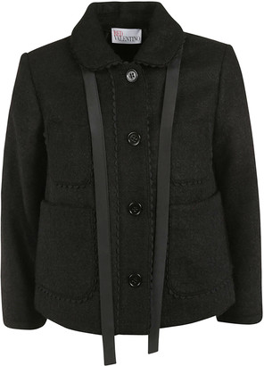 RED Valentino Buttoned Jacket