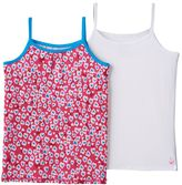 Cuddl Duds Girls 4-16 2-pk. Comfortech Poly Camisoles