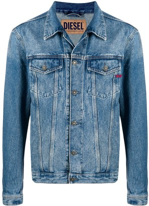 Diesel Stonewashed Denim Jacket