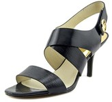 MICHAEL Michael Kors Joselle Open Toe Patent Leather Sandals.