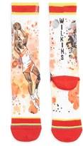 Stance Men's 'Dominique Wilkins - Nique' Watercolor Print Socks