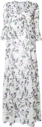 Blumarine Floral Full Dress
