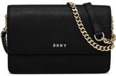 DKNY Saffiano Bryant Leather Park Sml Flap Crossbody