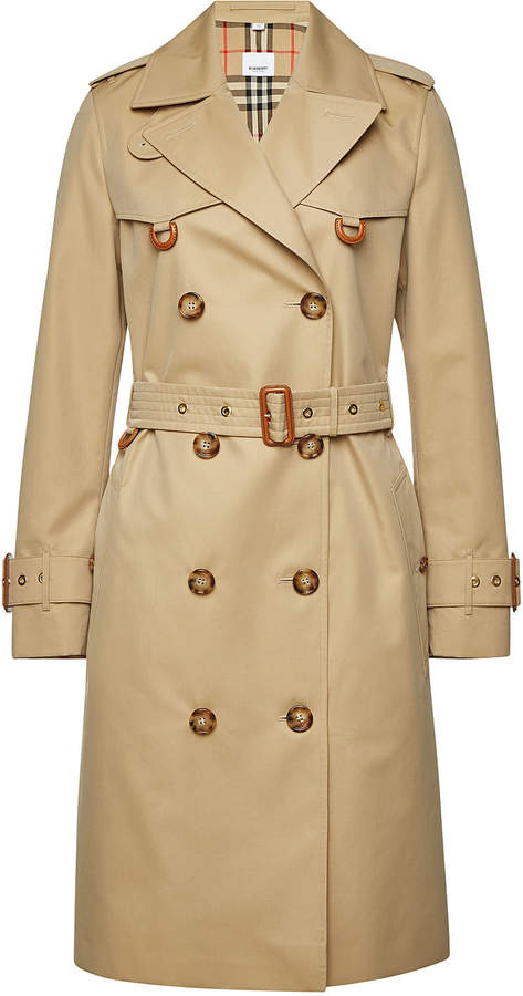 Burberry Coat Cotton Beige Trench Stylebop Crossway tsQBrCxhd