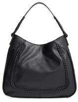 Sole Society Rema Faux Leather Shoulder Bag - Black