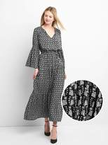 Gap Bell sleeve tier dress