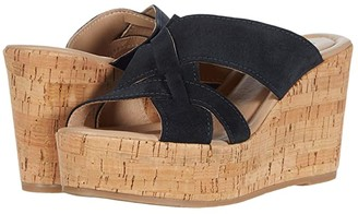 Cordani Janet (Slate Suede) Women's Wedge Shoes