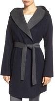 MICHAEL Michael Kors Women's Double Face Hooded Wrap Coat
