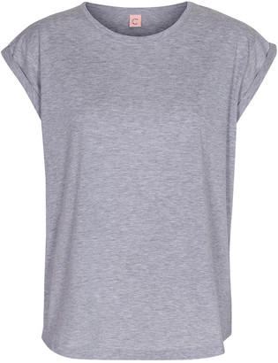 Melange Home Custommade - Grey Cotton Lonnie T Shirt - 38 - Grey