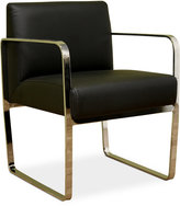 Amato Faux Leather Chair, Quick Ship