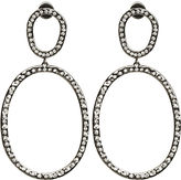 Diamond Again Hoop Earrings