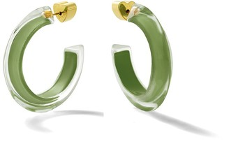 Alison Lou Juniper Small Fall Jelly Hoop Earrings