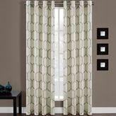 Bed Bath & Beyond Portinari Grommet Top 84-Inch Window Curtain Panel in Spa