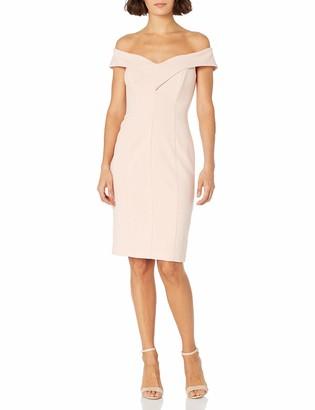 Brinker & Eliza Women's Sweetheart Neck Off-The-Shoulder Dress (Regular & Petite)