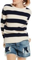 Scotch & Soda Crewneck Stripe Sweater