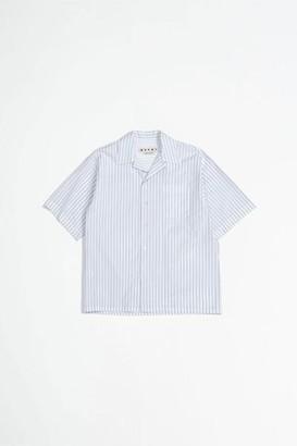 Marni Zig Zag Shirt Navy White - 46