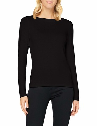 Vero Moda Women's VMPANDA Modal L/S TOP GA Color Long-Sleeved T-Shirt