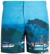 Orlebar Brown Bulldog Photographic mid-length swim shorts