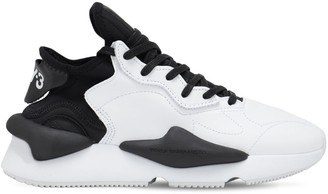 Y-3 Kaiwa Leather Sneakers