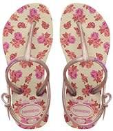 Havaianas Freedom Print, Girls Sandals,10/11 Child UK (27/28 Brazilian) (29/30 EU)