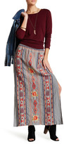 Johnny Was Embroidered Maxi Skirt