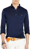 Polo Ralph Lauren Cotton Jersey Regular Fit Popover Shirt