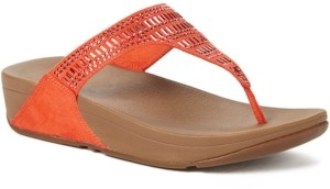 FitFlop Incastone Toe-Thong Sandals Women's Shoes