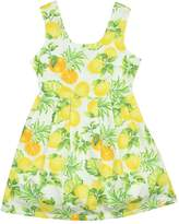 Bimbalina Lemon Open Back Dress