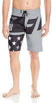 Fox Men's Motion Red, White and True Boardshort