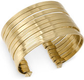 Kenneth Cole New York Gold-Tone Multi-Row Wire Cuff Bracelet