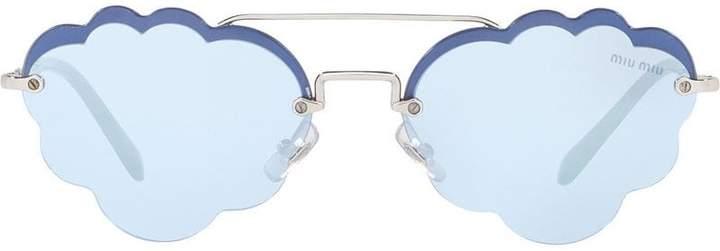 Miu Miu cloud sunglasses