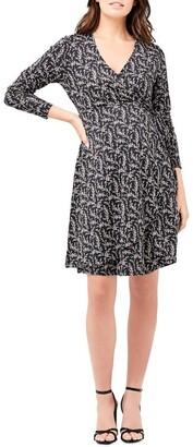 Ripe Blossom Wrap Dress