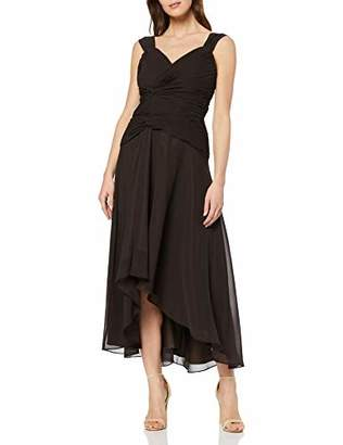 Astrapahl Women's co6021ap Knee-Length Plain Cocktail Sleeveless Dress, (Manufacturer Size: )