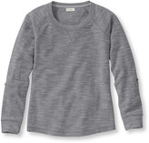 L.L. Bean Women's Textured French Terry Pullover