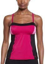Nike Women's Color Surge Colorblock Tankini Top