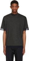 Kolor Grey Wool T-shirt