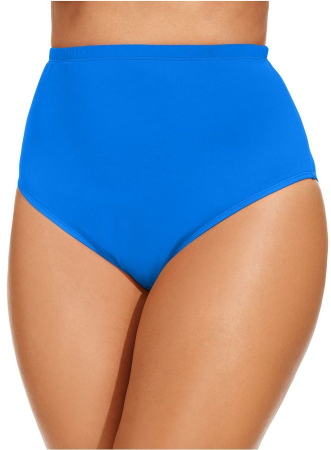 LaBlanca La Blanca Plus Size High-Waist Swim Bottoms