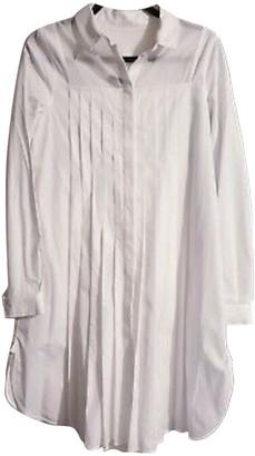 Mulberry White Cotton Dresses