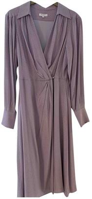 Equipment Purple Dress for Women
