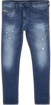 Diesel Spender 0678m Blue Skinny Jogg Jeans