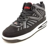 Fubu Break Men Round Toe Synthetic Black Sneakers.