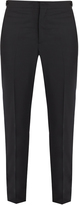 Burberry Side-panel slim-leg trousers