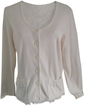 Sonia Rykiel White Cotton Knitwear for Women Vintage
